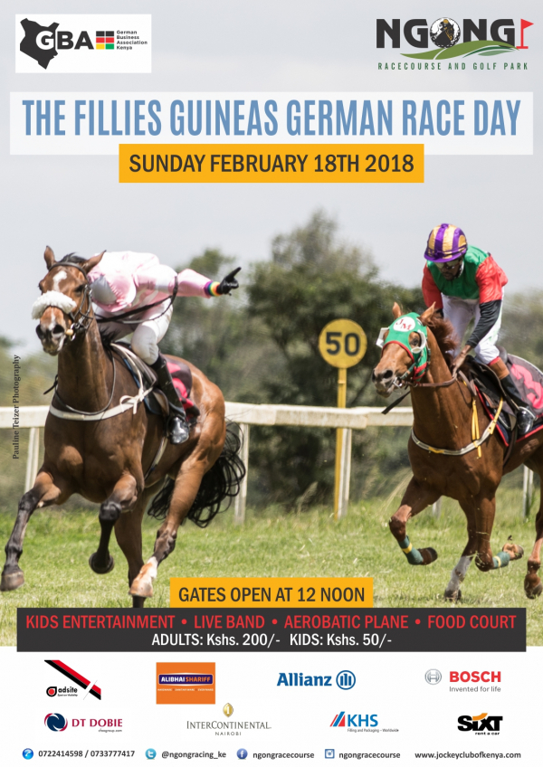 Fillies Guineas German Race Day on 18.02.2018